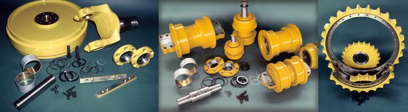 OEM and aftermarket parts for dozers, loaders and excavators.
